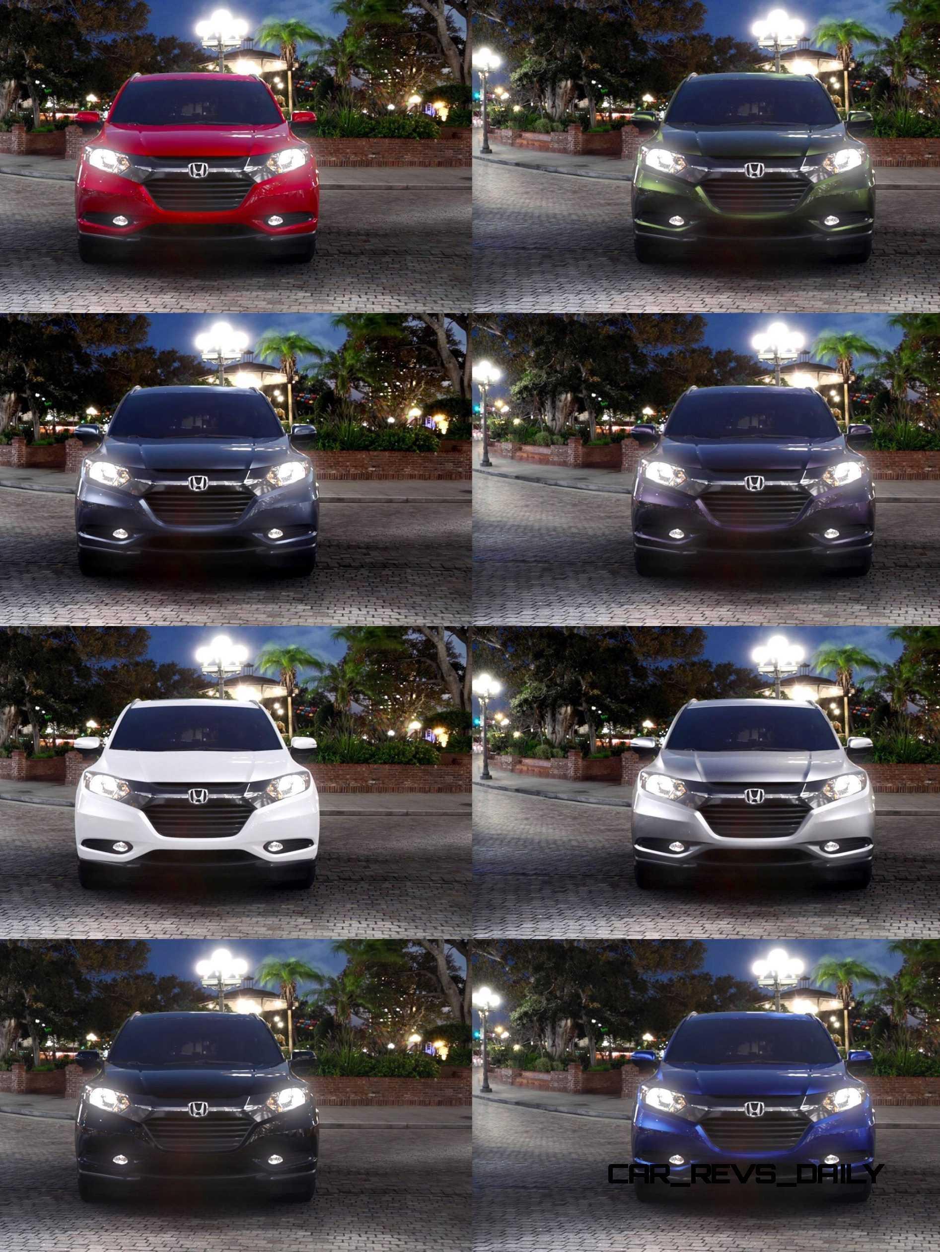 Honda Hrv Green : honda, green, Honda, Colors
