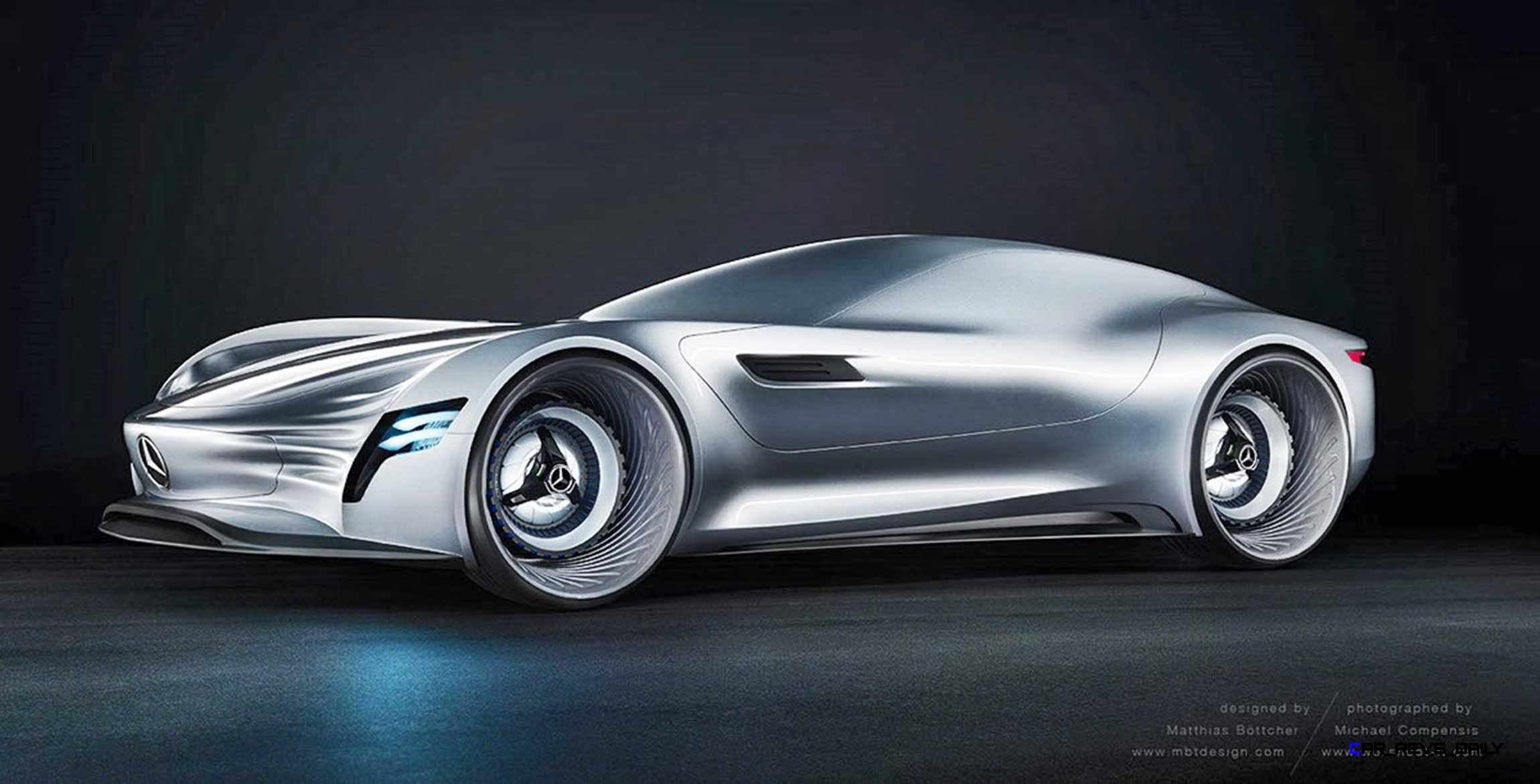 2020 Mercedesbenz Sl Pure Concept By Matthias Böttcher 15