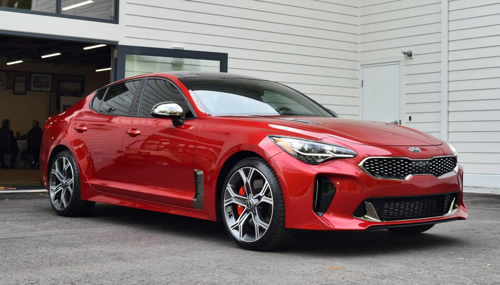 2018 Kia Stinger Gt Awd  48s, 167mph Stats Confirmed