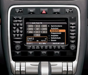 Video Interface for Porsche Cayenne of 20032008 MY Car