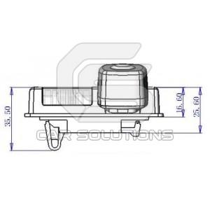 Car Rear View Camera for Nissan Teana. Car Solutions