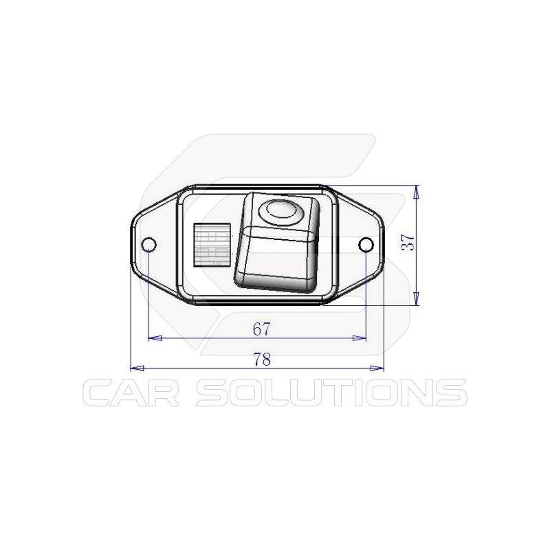 Car Rear View Camera for Toyota Land Cruiser Prado. Car