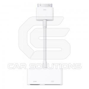 AV Adaper for iPhone/iPod. 30 Pin-HDMI Cable. MD098ZM/A