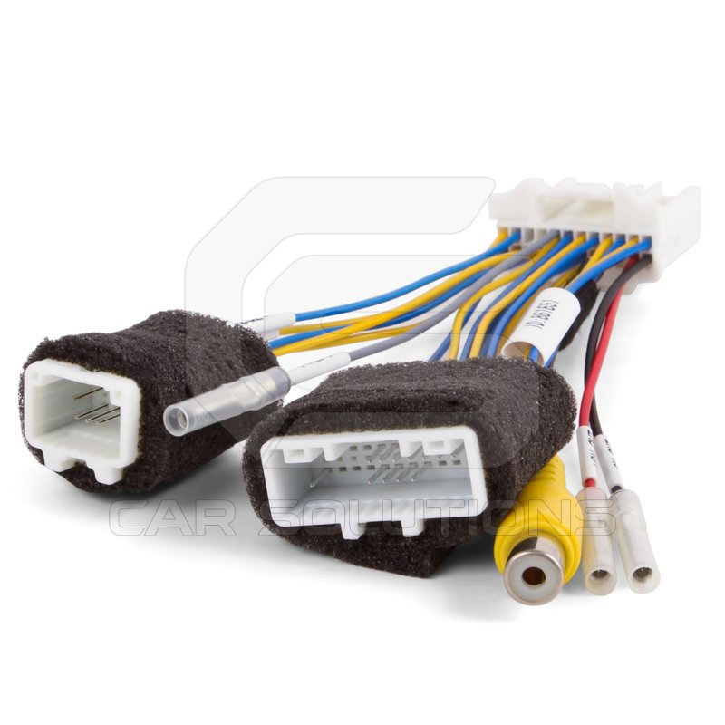 plug wiring diagram canada 2004 jeep liberty parts rear view camera connection cable for nissan altima, frontier, rogue, micra, juke with connect ...