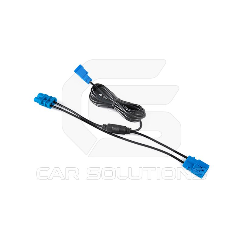 Dual A-LINK Navigation Box GPS Fakra IN/OUT Cable for