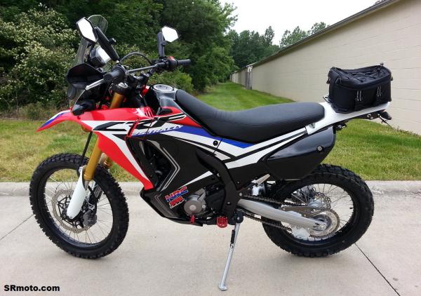 Honda CRF250L Rally Project Bike Updates - SRmoto.com: WR250R   Tenere 700   CRF450RL   CRF450L   CFR250L   DRZ400   Dual Sport   Supermoto
