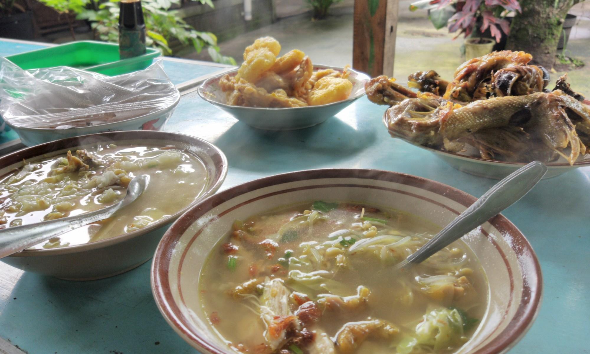 Cara Mudah Makan Soto Ayam di Gunungkidul