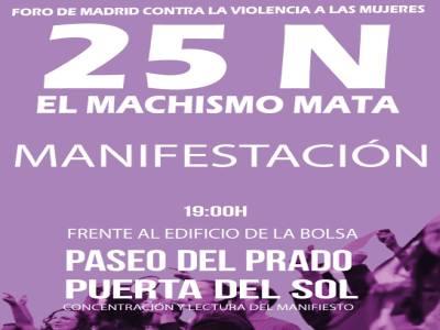 manifestacion 25N