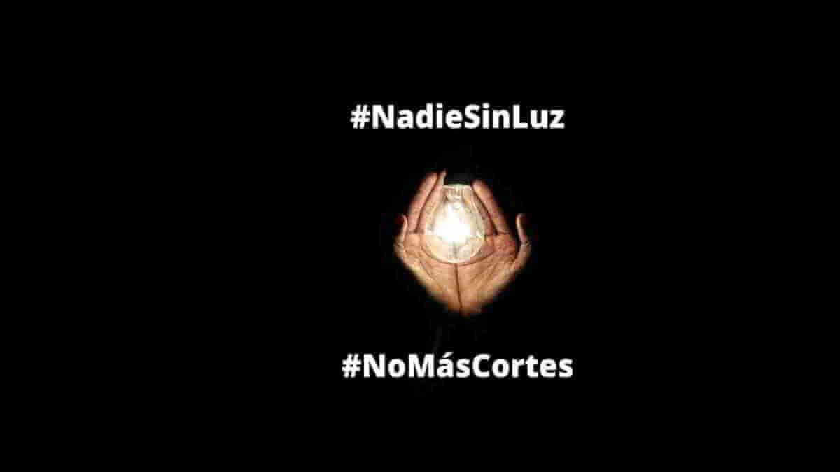 #NadieSinLuz