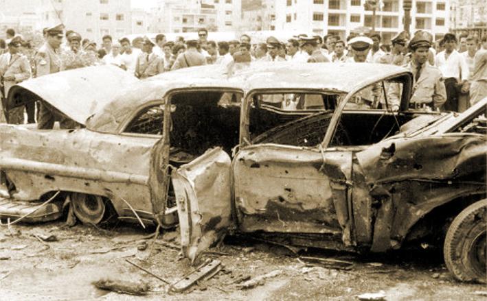 Un carro bomba explotó en Caracas y le quemó las manos al Presidente