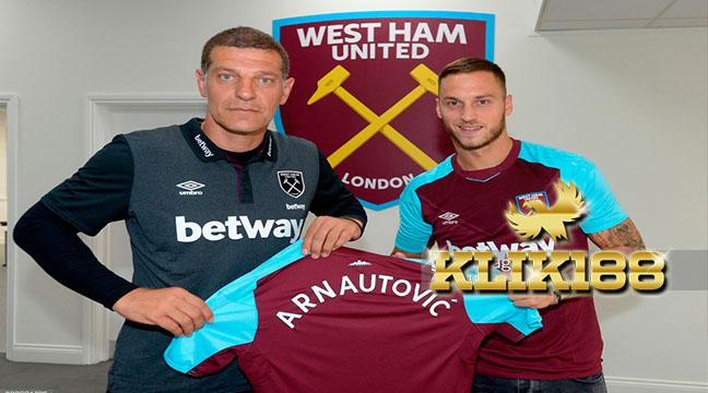 West Ham United Resmi Umumkan Perekrutan Marko Arnautovic