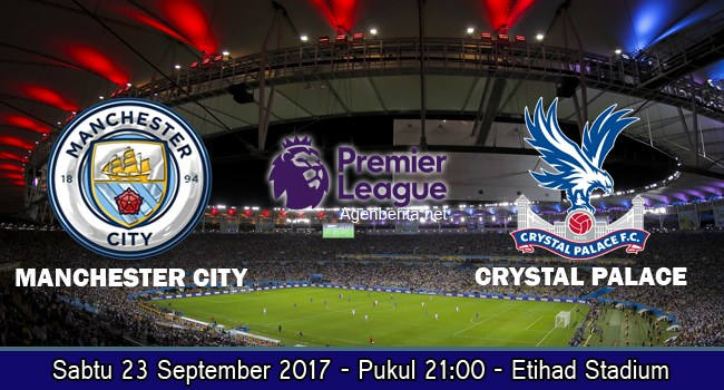 Prediksi Bola Manchester City vs Crystal Palace 23 September 2017