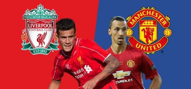 Prediksi Skor Liverpool vs Manchester United 14 Agustus 2017