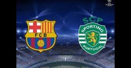 Prediksi Skor Barcelona vs Sporting CP 06 Desember 2017