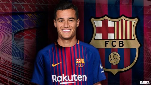 Philippe Coutinho Resmi Menjadi Pemain Barcelona
