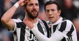 Higuain Cetak Hattrick Saat Juventus Bungkam Sassuolo 7-0