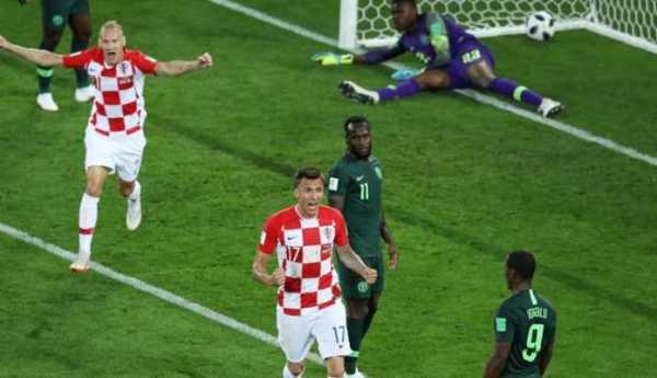 Laporan Pertandingan Sepakbola Timnas Kroasia VS Timnas Nigeria