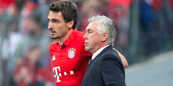 Hummels Bantah Dirinya Terlibat Dalam Pemecatan Ancelotti