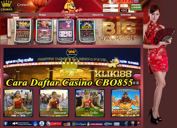 Cara Daftar Casino CBO855