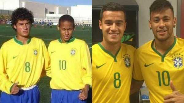 Neymar dan Coutinho Masih Senjata Utama Brasil