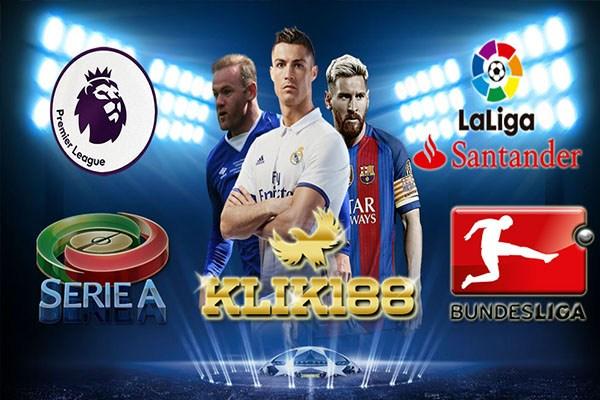 Jadwal Pertandingan Liga-Liga Top Eropa
