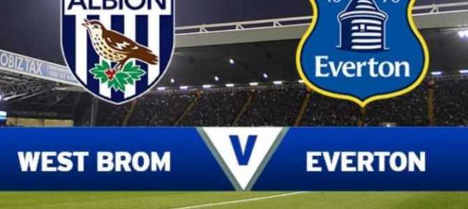Prediksi Skor West Bromwich Albion vs Everton 26 Desember 2017