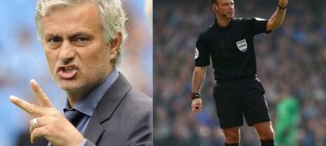 Ternyata Jose Mourinho Penyebab Wasit Clattenburg Pensiun