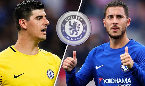 Hazard Katakan Akan Tetap Di Chelsea kalau Courtois Tinggal