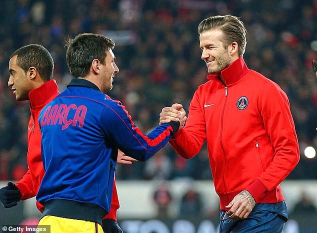 David Beckham Tertarik Rekrut Messi Untuk Tahun 2020