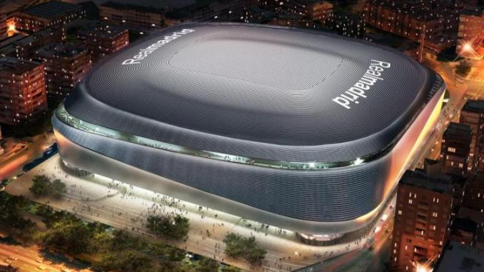 Real Madrid Rilis Disain Baru Stadion Santiago Bernabeu