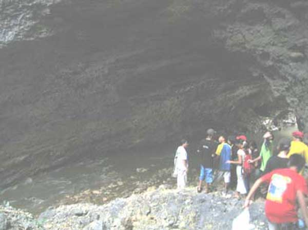 hinayagan cave, bislig city