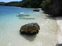 Bitaog Beach, Dinagat Islands