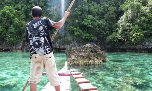 Dazzling Lake Bababu, Basilisa, Dinagat Islands
