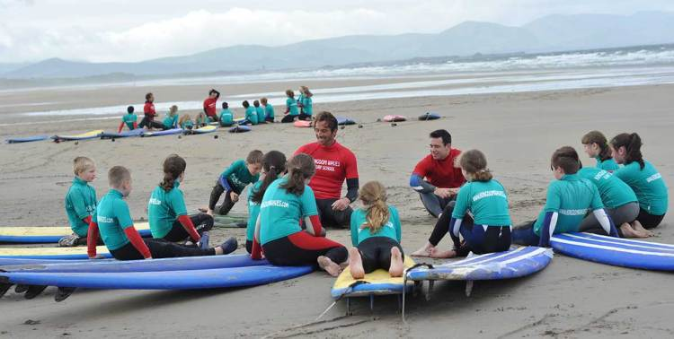 seaside activities in kerry
