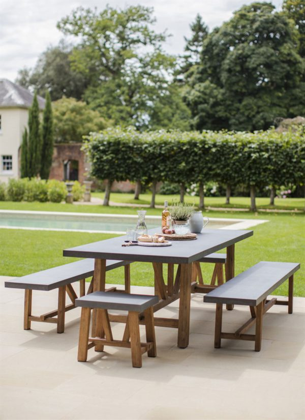 chilson table bench set