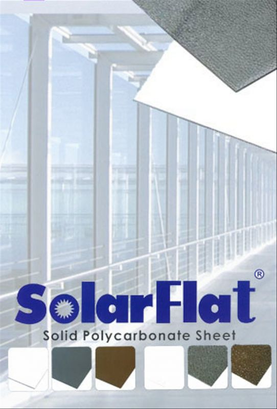 jual polycarbonate solar flat