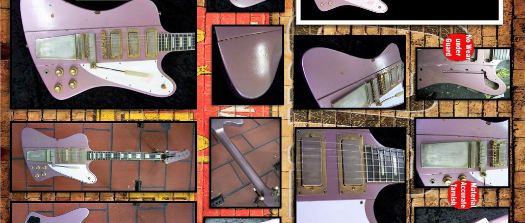 Relic Gibson Firebird Heather Poly