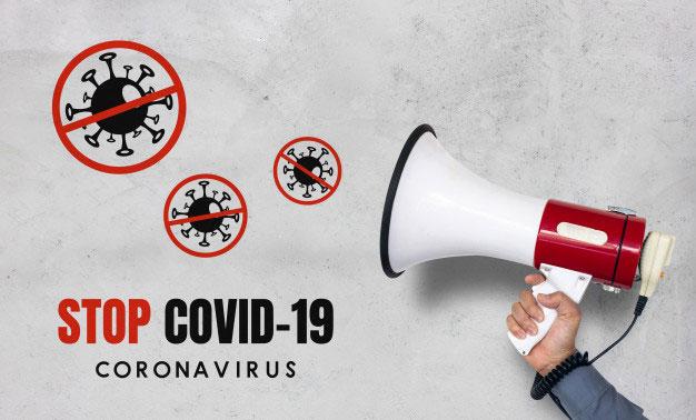 Stop Virus Corona