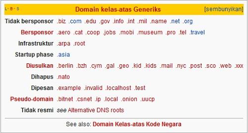 Apakah Domain Itu ? Pengertian Domain