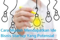 3 Cara Mudah Mendapatkan Ide Bisnis Startup yang Potensial