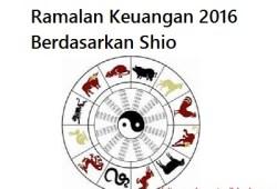 Ramalan Keuangan 2016 Berdasarkan Shio