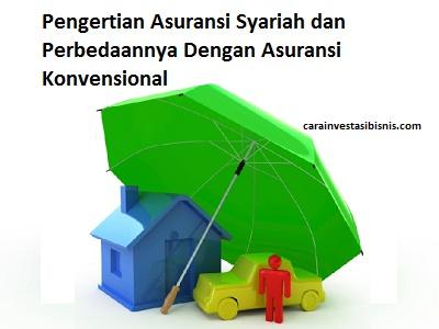 perbedaan asuransi syariah dan asuransi konvensional
