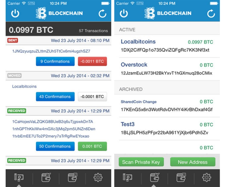 BitX bitcoin wallet