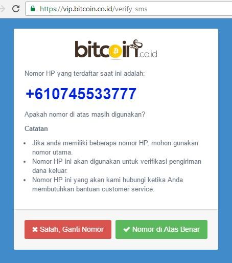 Dompet Website untuk bitcoin