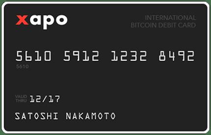 Xapo wallet