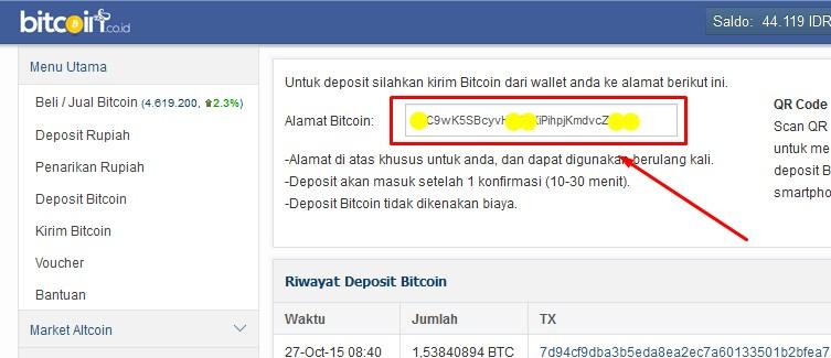 Akun Bitcoin