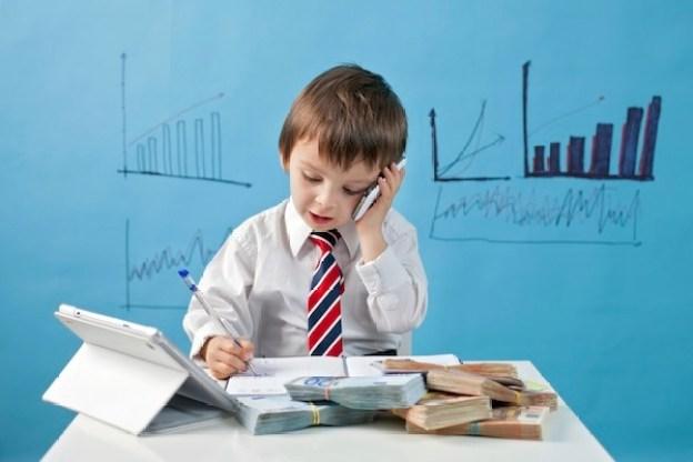ajari Anak dalam bisnis