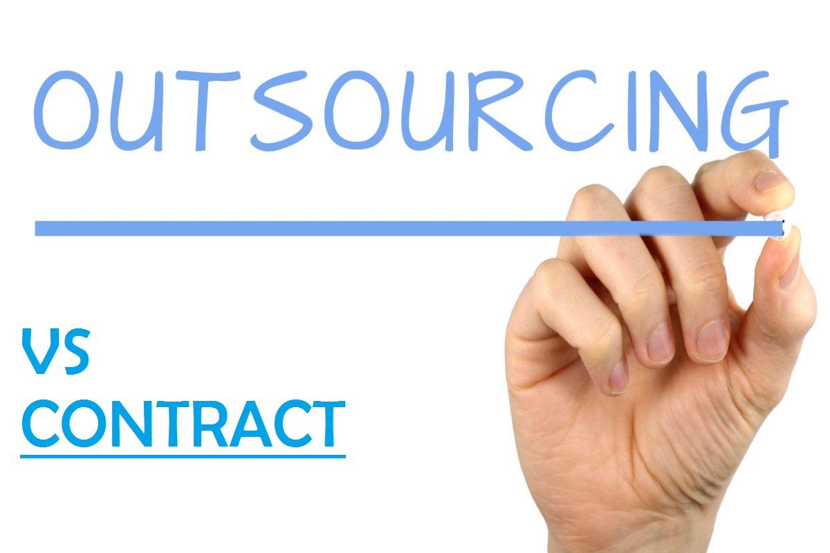 Outsourcing vs Kontrak