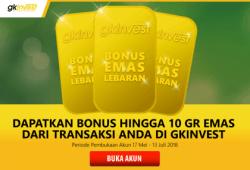 Siaran Pers: GKInvest Luncurkan Promo Emas Lebaran