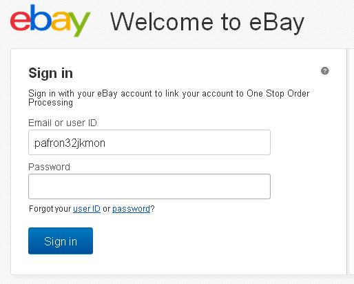 Login Akun eBay